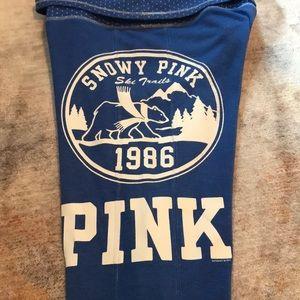 PINK Victoria's Secret Pants - Victoria's Secret pink flare bottom sweatpants